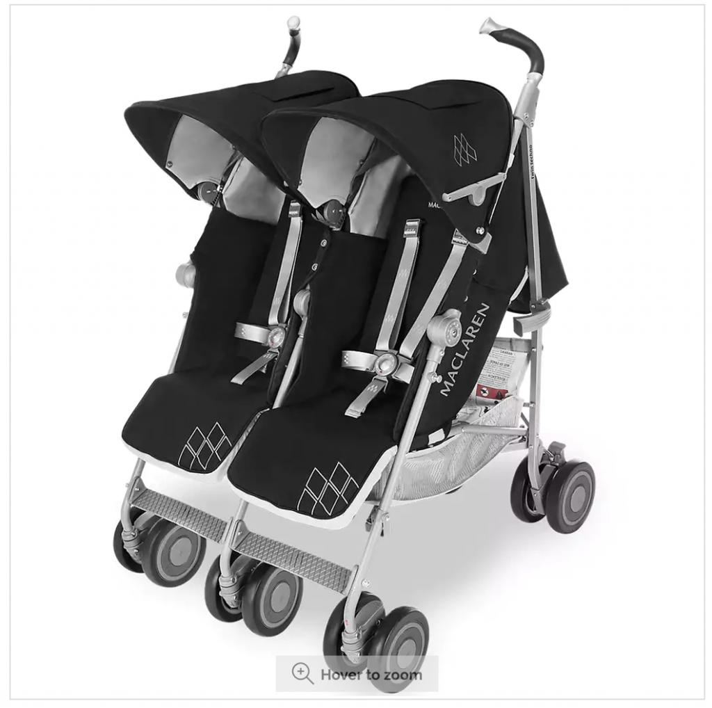İkiz bebek arabası seçimi - Maclaren Twin Techno